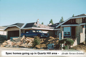 About the antelope valley for Spec home builders near me